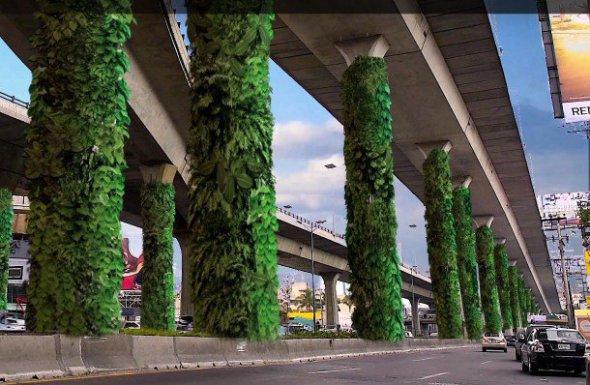 V�a Verde, el jard�n vertical que transformar� la Ciudad de M�xico