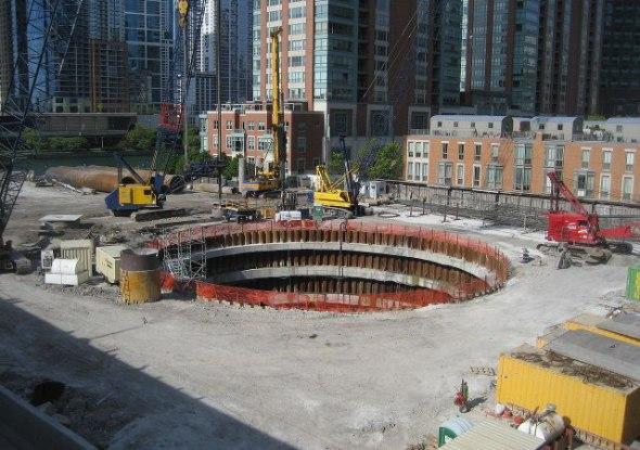 El hoyo que dejó Santiago Calatrava