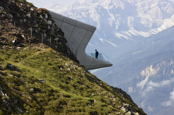 [Video] Reinhold Messner Museum por Zaha Hadid