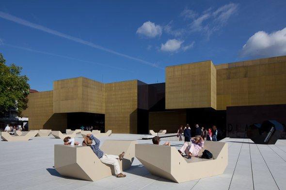 Centro Internacional para las Artes Jose de Guimarães por Pitagoras Arquitectos