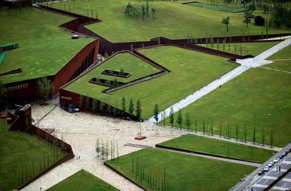 Arquitectura que Conmemora un Terremoto