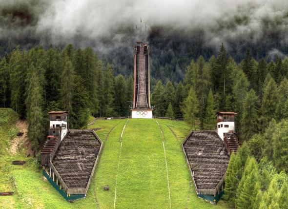 Instalaciones Olímpicas Abandonadas en Todo el Mundo