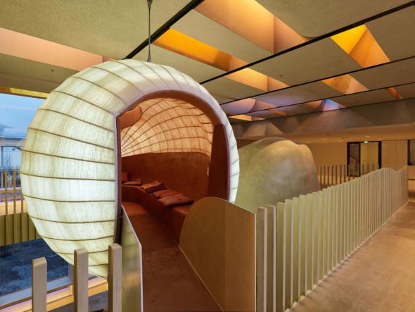 Oficinas diseñadas para estimular la comunicación y creatividad.