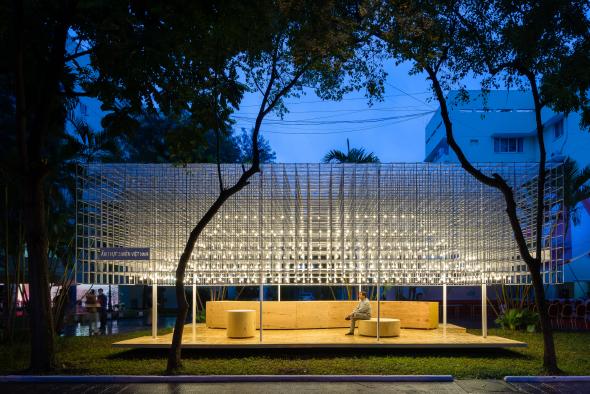 Pabellón de comida vietnamita por MIA Design Studio