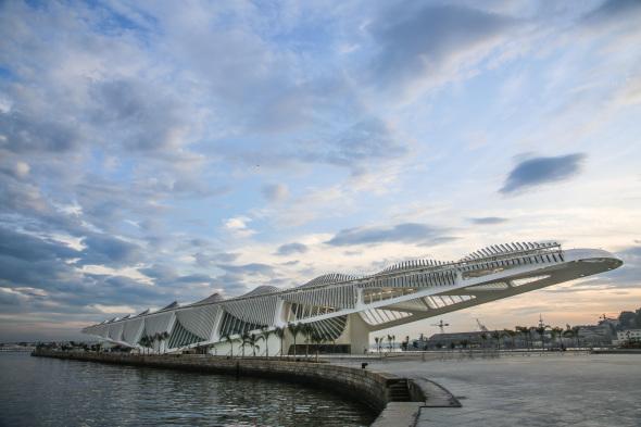 Problemas de deterioro en el museo de Calatrava en Río