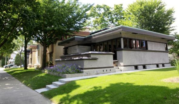 Las casas prefabricadas de Frank Lloyd Wright