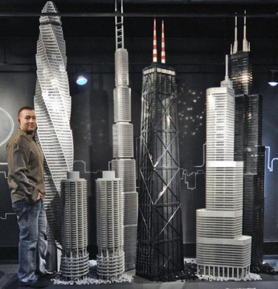 Bloque a bloque, un recorrido por las maravillas arquitectónicas del mundo hechas en Lego