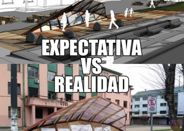 Expectativa VS Realidad: La instalación que disgustó a los puertomontinos