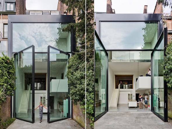La casa con las puertas más altas y pesadas del mundo