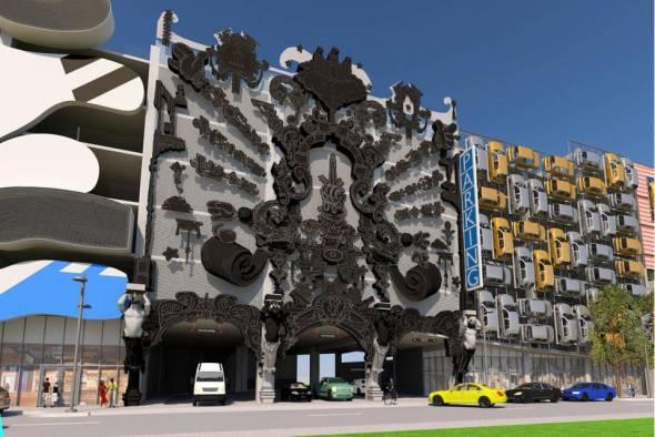 el miami design district es uno de los barrios ms originales de la ciudad de florida gracias a que est totalmente dedicado a mostrarse como uno de los