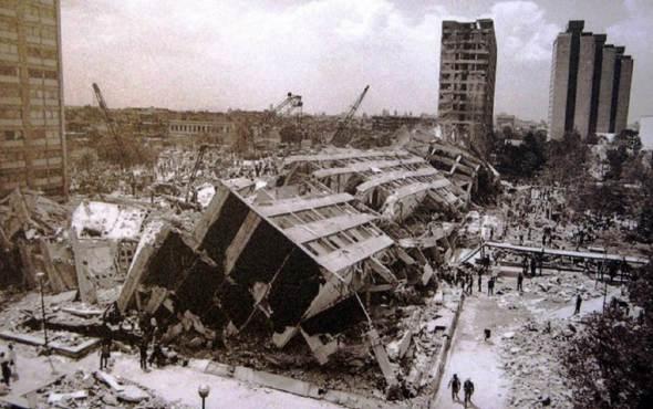 A 31 años del sismo de 1985, más de 200 inmuebles estan en riesgo de colapso