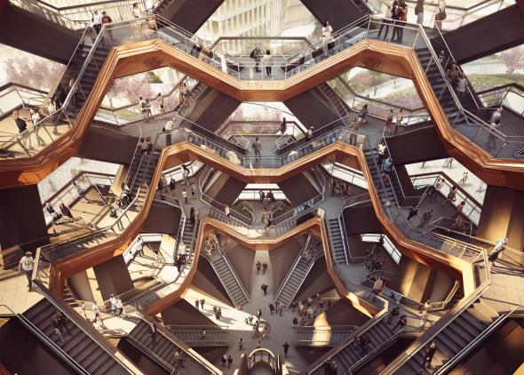 La escalera a ninguna parte de US$150 millones que se construirá en el centro de Manhattan