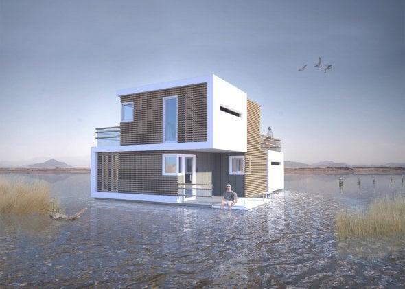 Arquitectos holandeses diseñan casa que se divide en dos partes en caso de divorcio