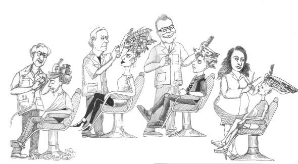 Humor en la Arquitectura: ¿Con qué arquitecto te cortarías el cabello?