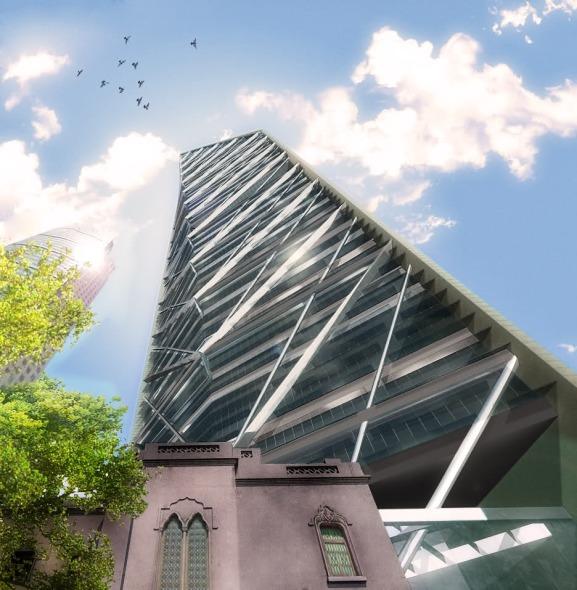 Reconocen diseño arquitectónico de la Torre Reforma