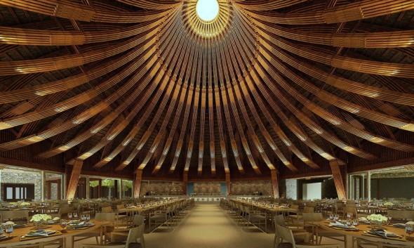 Kim Boi Bamboo: La Belleza Y Fortaleza Del Bamb� En Un Restaurante