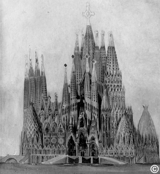 La Sagrada Familia... ¿es de Gaudí?