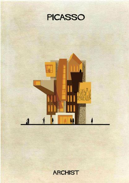 ¿Y si Picasso o Mondrian hubieran nacido arquitectos?