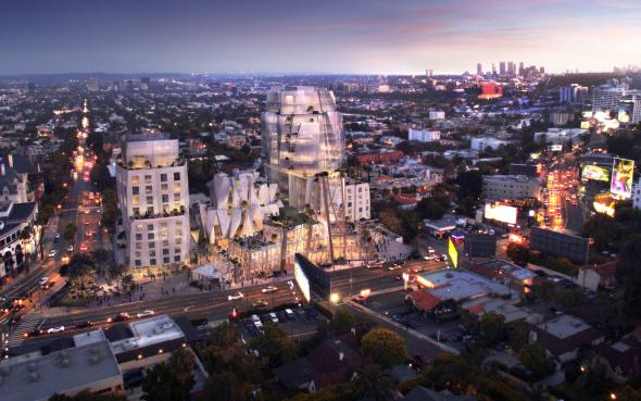 Dan luz verde a proyecto de Frank Gehry que transformará Sunset Strip