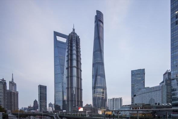 El rascacielos del año está en Shanghái