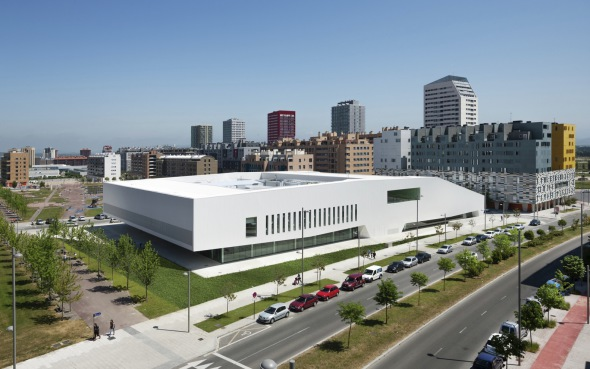 El Centro Cívico Salburua recibe un premio arquitectónico internacional
