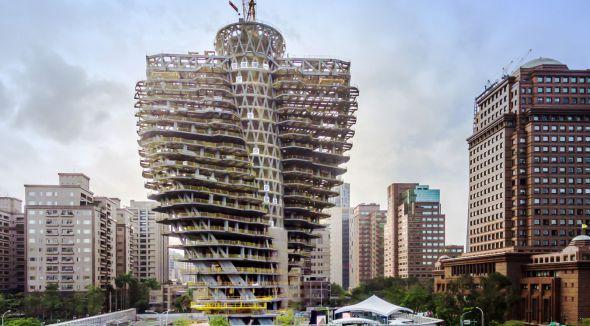 En Taiwán están construyendo un edificio que se come la contaminación