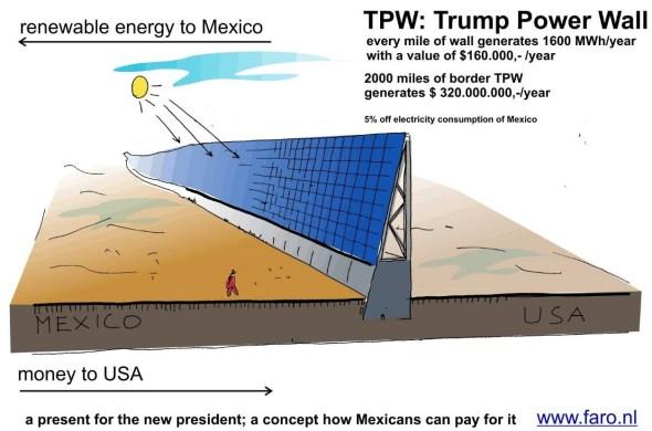 El arquitecto holandés que propuso a Trump construir muro ecológico