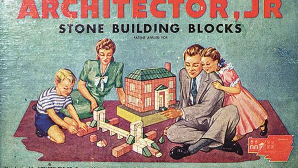 La historia de los juguetes de construcción
