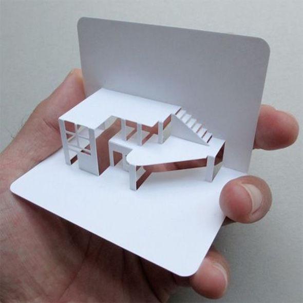 Las tarjetas de presentación para arquitectos más originales