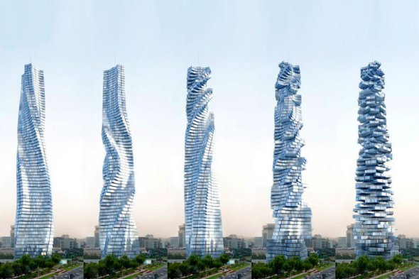Ahora si construirán el primer rascacielos giratorio en Dubái