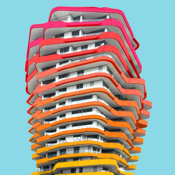 El fotógrafo que le pone color a la arquitectura