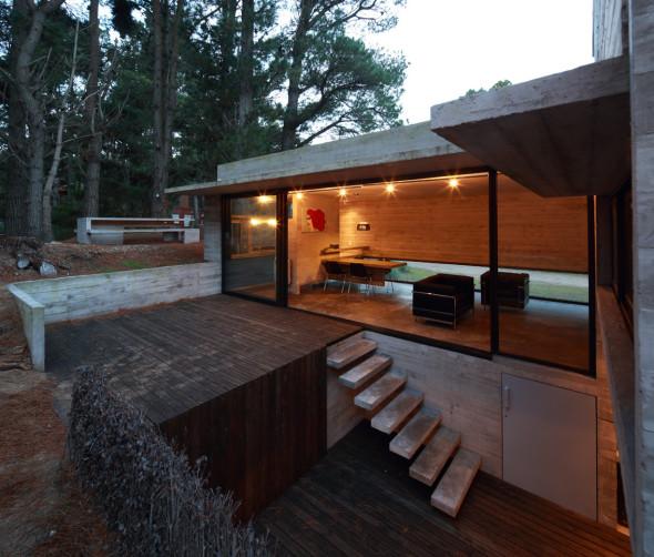 Vivienda con muebles de concreto casa pedroso noticias - Transformar contenedor maritimo vivienda ...