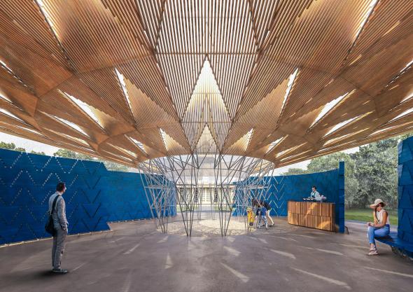 El arquitecto burkinés levantará en Londres el décimo séptimo Pabellón de la Serpentine