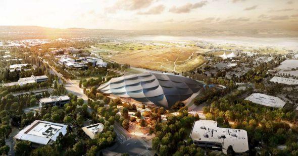 Nuevas imágenes por BIG y Heatherwick, para la nueva sede de Google