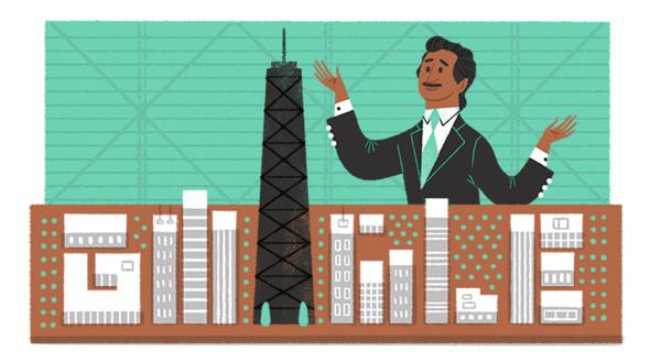 Cinco rascacielos del famoso arquitecto que Google recordó