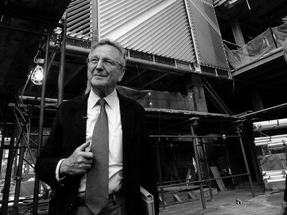 Rafael Moneo, el último arquitecto que dibuja sus edificios