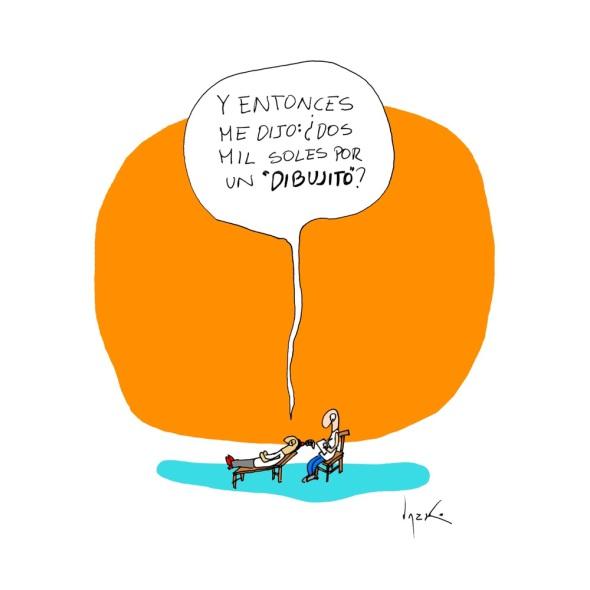 Humor: Cuando te piden un dibujito.