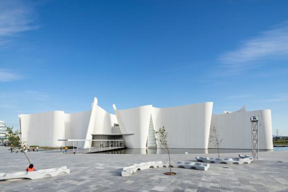 Los muros -emparedados- que dieron forma al Museo Internacional del Barroco (MIB)