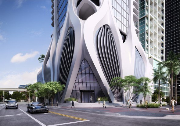 El edificio One Thousand Museum por Zaha Hadid en un documental