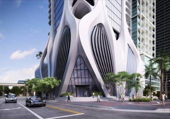 El edificio One Thousand Museum por Zaha Hadid en un documental