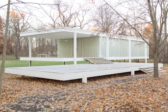 El hogar de la discordia que diseñó Mies van der Rohe