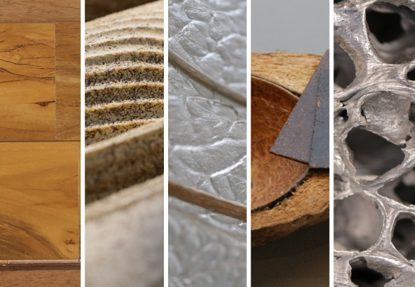 Materiales ecoamigables que pueden cambiar al mundo