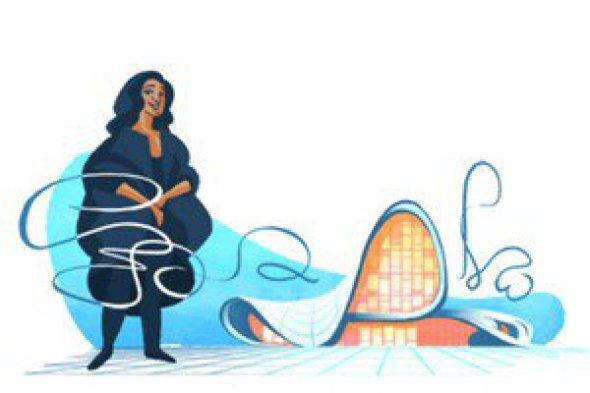 Google homenajea a la arquitecta Zaha Hadid
