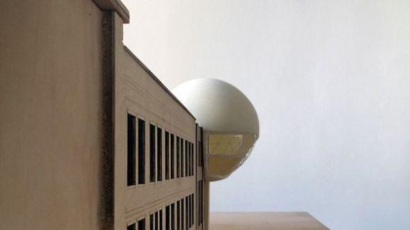 La fantástica esfera de Niemeyer que será construida de manera póstuma