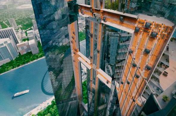 No más límites en altura, forma y movilidad: el elevador del futuro