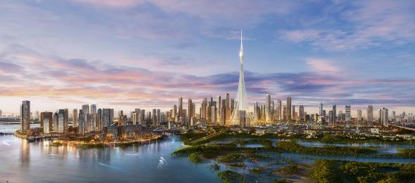 [Video] La Torre de Santiago Calatrava en Dubai avanza a buen ritmo