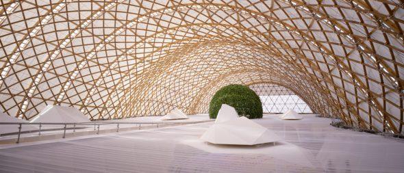 ¿Conoces la mayor estructura de cartón del mundo?