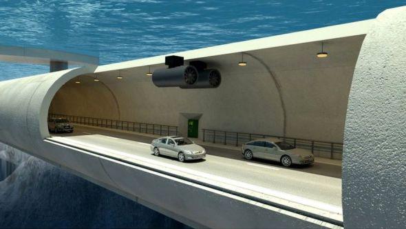 E39: la increíble autopista de túneles subacuáticos y puentes flotantes con que Noruega busca conectar su accidentada geografía