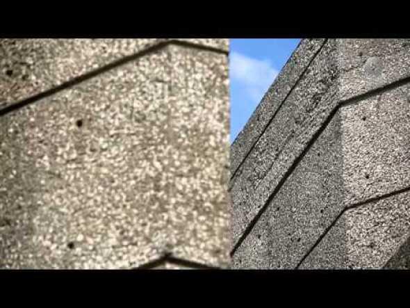 Breve historia del concreto cincelado