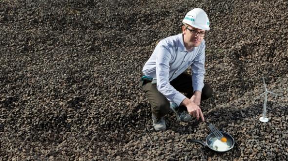 Pilas naturales: piedras que almacenan electricidad